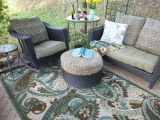 Outdoor Rugs Make Springtime Cozy