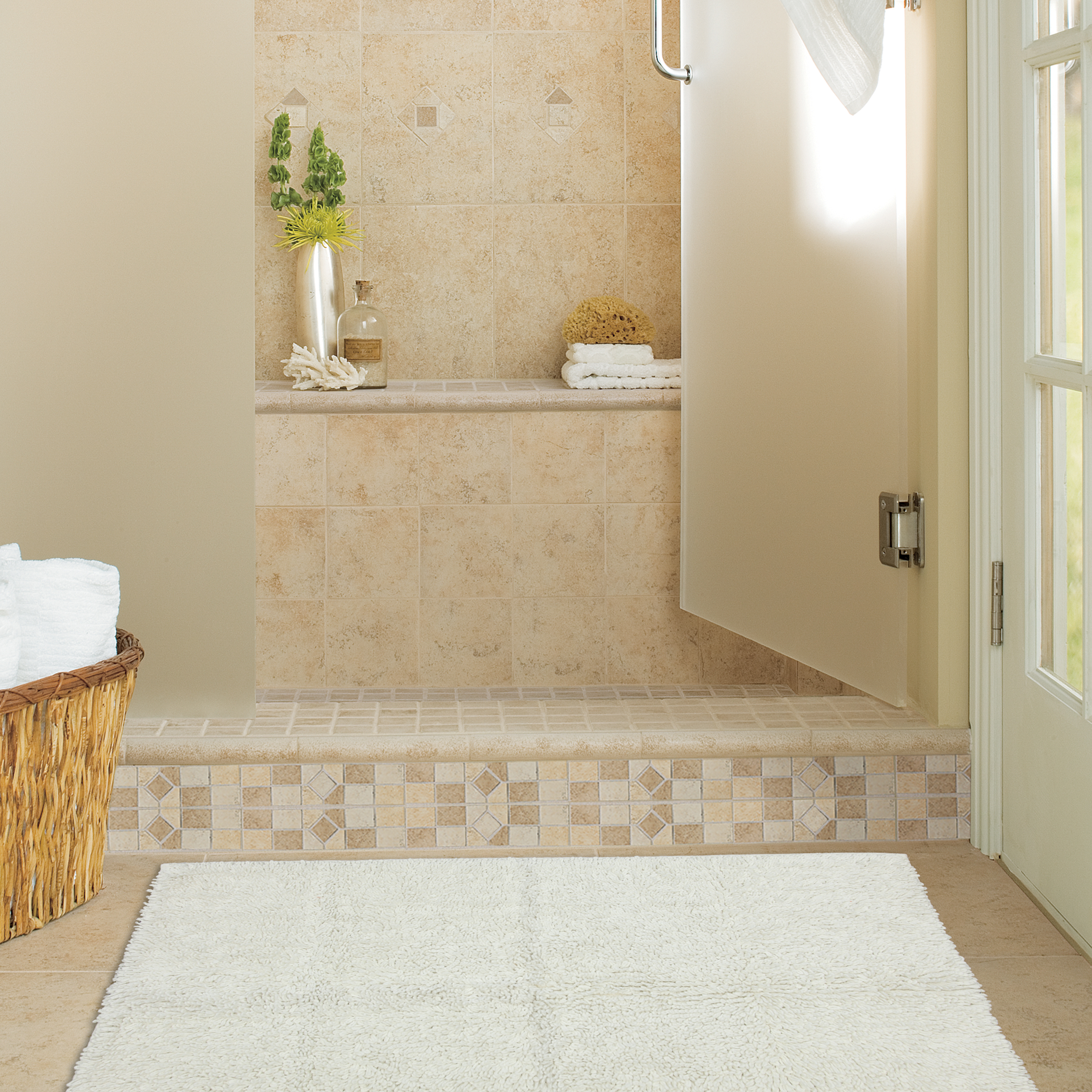 A Bathroom Rug to Warm Up the Room | Mohawk Homescapes